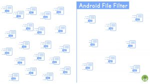 Audio File Filter Android