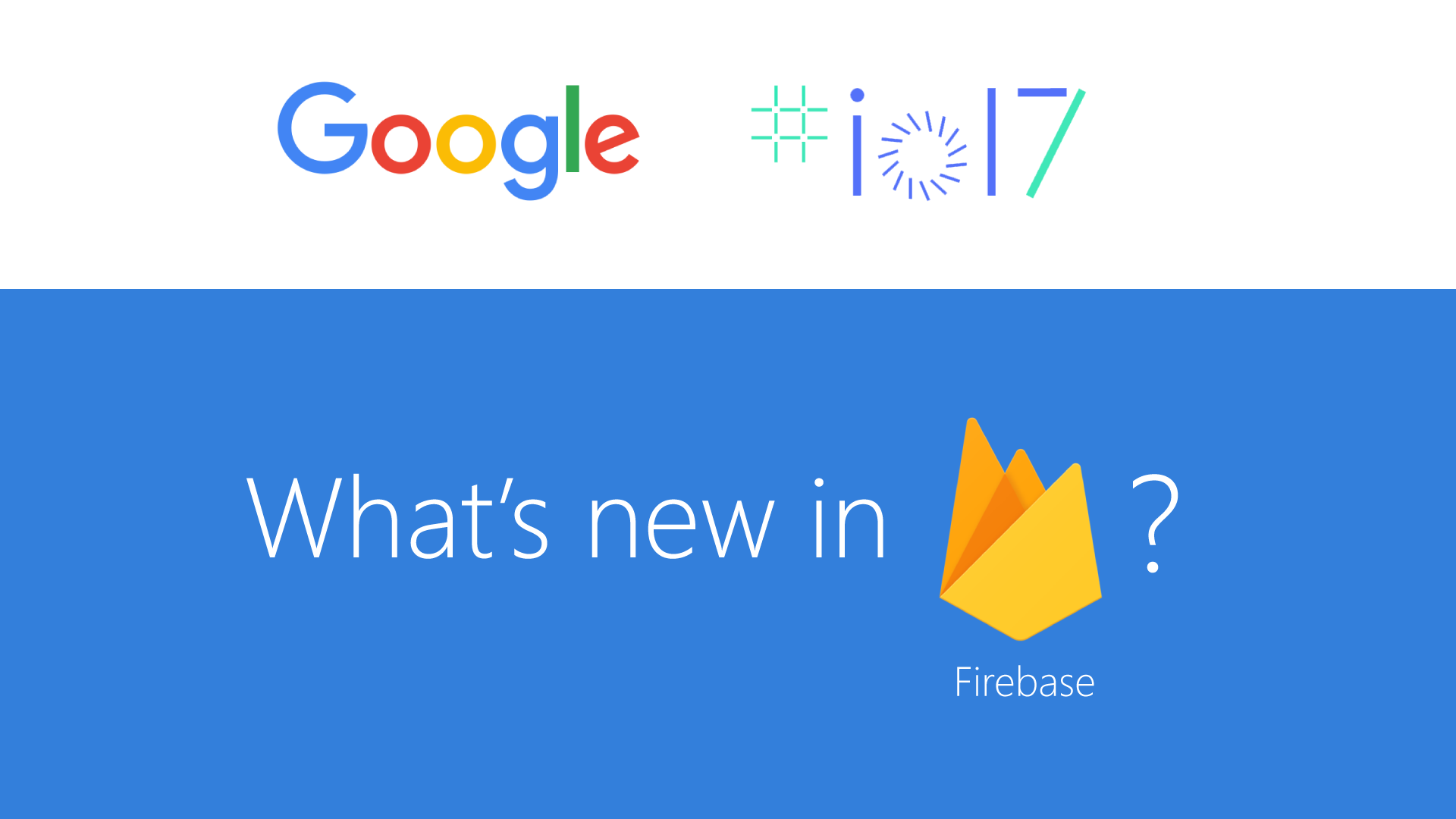 Whats new in Firebase