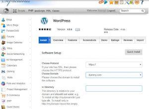 Wordpress Auto Installer
