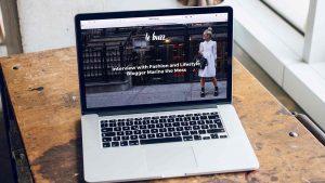 Setting up WordPress site