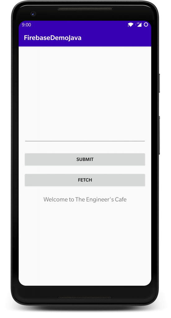 Fetch data from Firebase Android